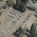 Roman Etruscan temple