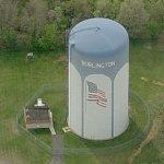 Burlington water tower (Birds Eye)