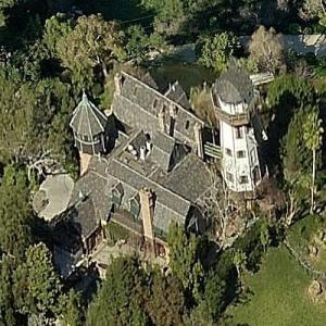 Malibu villa of Thomas Gottschalk (German tv-moderator) (Birds Eye)