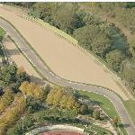 Location of Taburello Senna's fatal crash on the Autodromo Enzo e Dino Ferrari (Birds Eye)