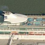 Royal Caribbean's 'Splendour of the Seas' (Birds Eye)