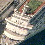 Carnival Cruise Ship 'Fascination' (Birds Eye)