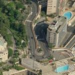Curva Loews Gp Monaco F1 (Birds Eye)