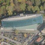 World Meteorological Organization Headquarters (Birds Eye)