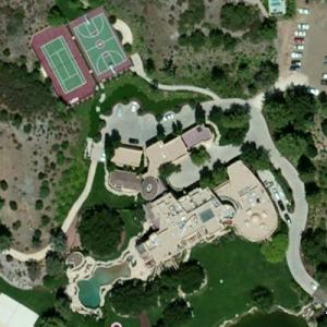 Will Smith's House (Bing Maps)