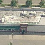 Krispy Kreme Doughnuts rooftop logo (Birds Eye)