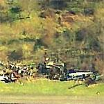 Discarded Plane Parts at Wakeman Airport (Birds Eye)