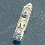 P&O Lines ship 'Oceana'