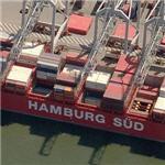 Hamburg Süd container ship 'Monte Sarmiento'