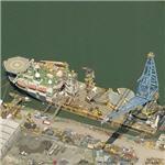 Self propelled DP crane vessel 'Saipem 3000'