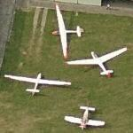 Gliders & small plane (Birds Eye)