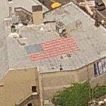 Rooftop USA flag