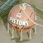 "Pistons ""Basketball"""