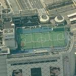 Penthouse soccer pitch from Fast And Furious: Tokyo Drift (Bing Maps)