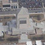 Indiana World War Memorial and Museum (Birds Eye)