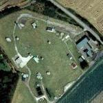 AL Digital Telecoms bunker at RAF Ash (Bing Maps)