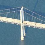 Newport-Pell Bridge (Bing Maps)