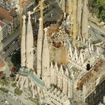 Sagrada Familia Basilica (Bing Maps)