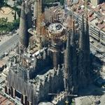 Sagrada Familia Basilica (Birds Eye)