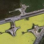 PGM-17 Thor missile launch site - Breighton (Bing Maps)