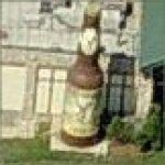 Giant Beer Bottle (Birds Eye)