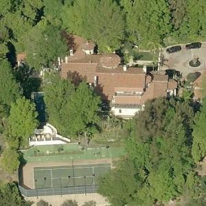 Sacha Gervasi & Jessica de Rothschild's House (Birds Eye)