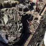 Wynn Las Vegas hotel under construction (Birds Eye)