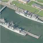 German frigates Bremen (F207) & Köln (F211) (Birds Eye)