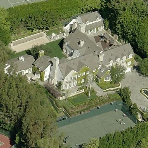 Tom Cruise 39 S House Former In Beverly Hills Ca Bing