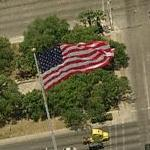 Giant United States Flag (Birds Eye)