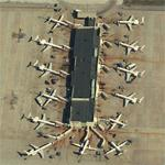 American Eagle (North) Terminal at DFW (Birds Eye)