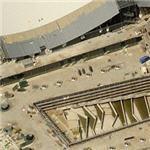 New Stuttgart airport terminals under construction