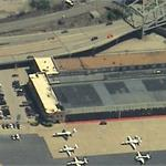Original Kansas City Downtown Airport TWA Terminal (Birds Eye)