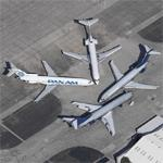 A Gathering of 727-200s (Birds Eye)
