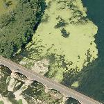 Pollution on Ticino River (Birds Eye)