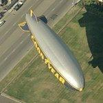 Goodyear Blimp (Birds Eye)