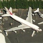 """City of Everett"" Boeing 747 prototype (Birds Eye)"