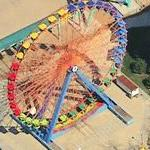 Giant Wheel at Cedar Point (Birds Eye)