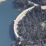 Mulholland Dam (Birds Eye)