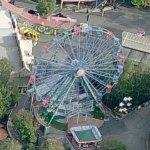 Rinkeli ferris wheel (Birds Eye)