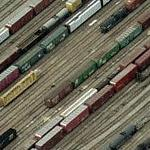 2007-05-23 - Site of Train Derailment & Spills of Beer, Asphalt (Birds Eye)