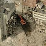 Demolition of Pabst Brewery