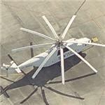Skytech Mil Mi-26 firefighting helicopter (Birds Eye)