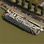 Striped Boat (Birds Eye)