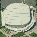 Spokane Veterans Memorial Arena (Birds Eye)