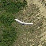 Hang glider at Torrey Pines