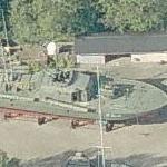 Danish Sohunden Class torpedo boat GTB Søbjørnen (P.512) (Birds Eye)