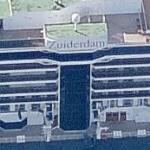 Holland America Lines ship 'Zuiderdam' (Birds Eye)