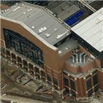 Lucas Oil Stadium under construction