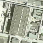 Dismantled hydrogen-compressor house (Bing Maps)